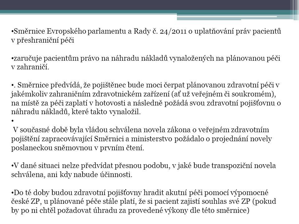 Směrnice Evropského parlamentu a Rady č
