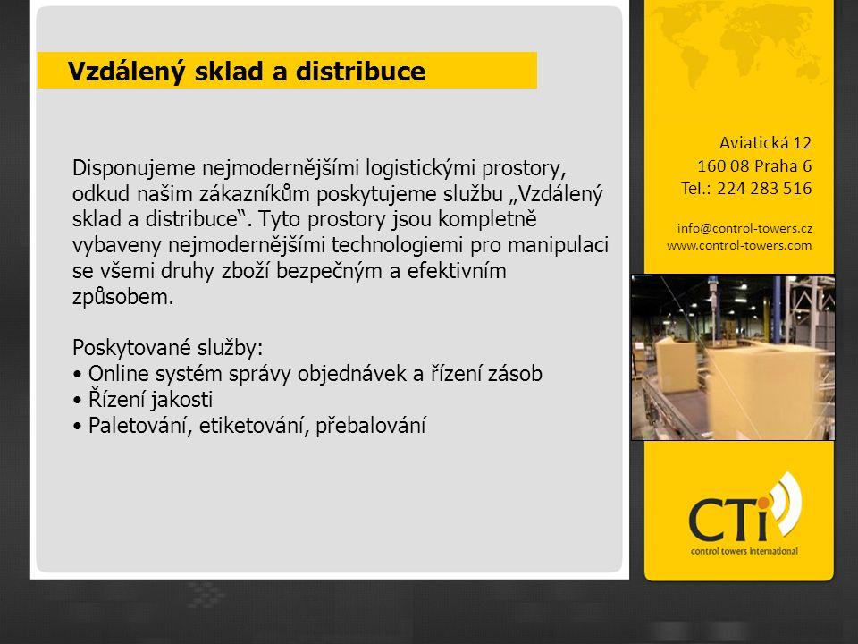 Vzdálený sklad a distribuce