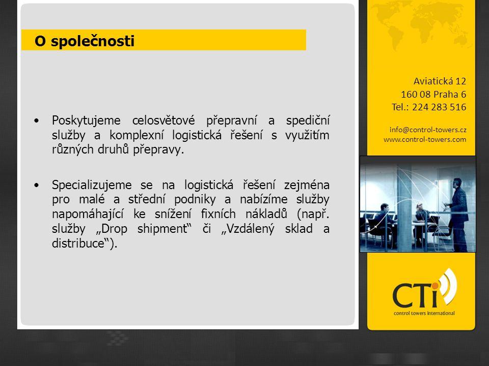 O společnosti Aviatická 12. 160 08 Praha 6. Tel.: 224 283 516. info@control-towers.cz. www.control-towers.com.