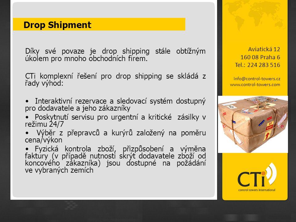 Drop Shipment Díky své povaze je drop shipping stále obtížným úkolem pro mnoho obchodních firem.