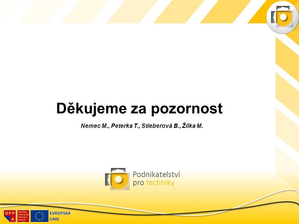 Nemec M., Peterka T., Stieberová B., Žilka M.