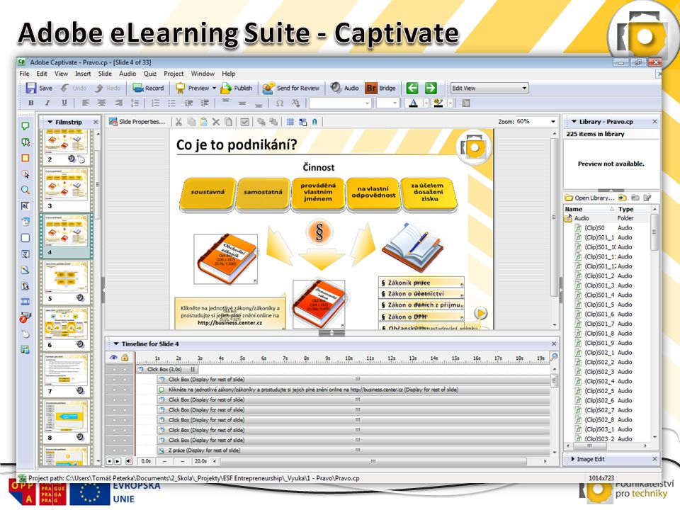 Adobe eLearning Suite - Captivate