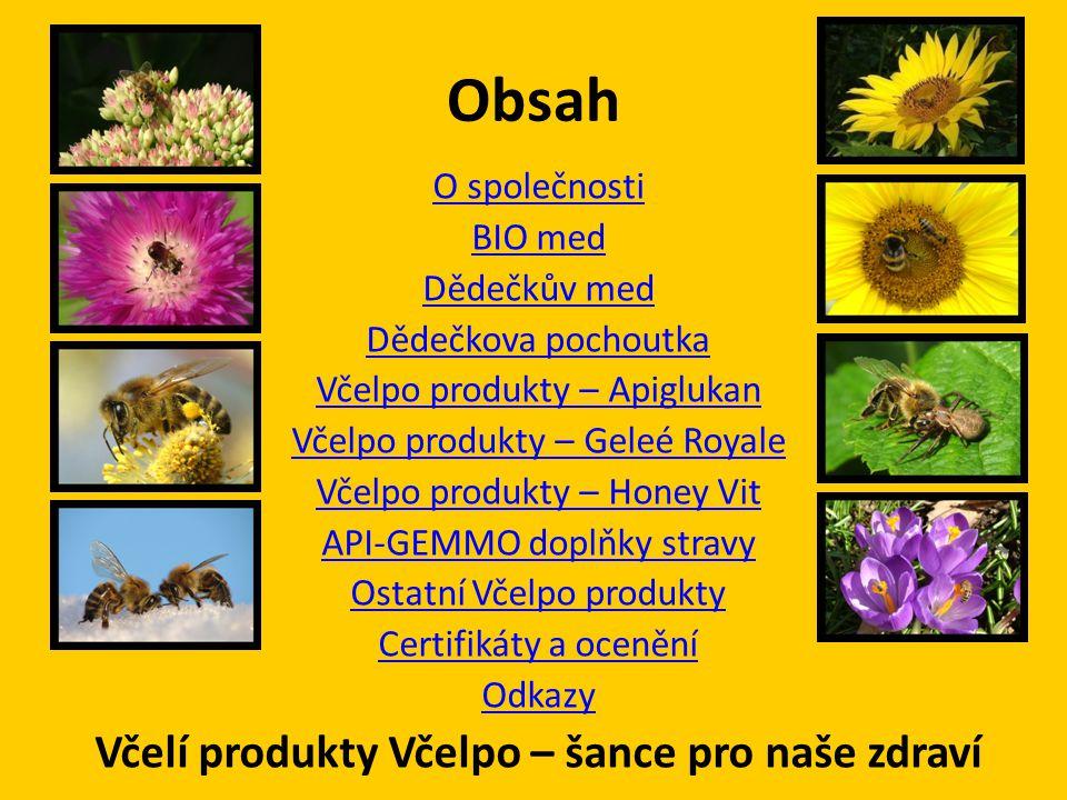 Včelí produkty Včelpo – šance pro naše zdraví