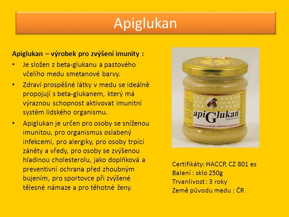 Apiglukan Apiglukan – výrobek pro zvýšení imunity :