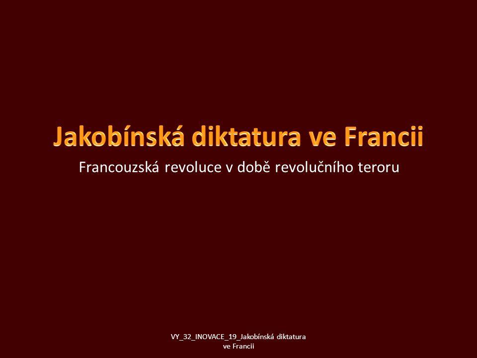 Jakobínská diktatura ve Francii