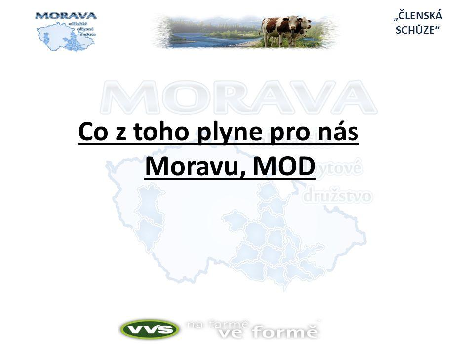 Co z toho plyne pro nás Moravu, MOD