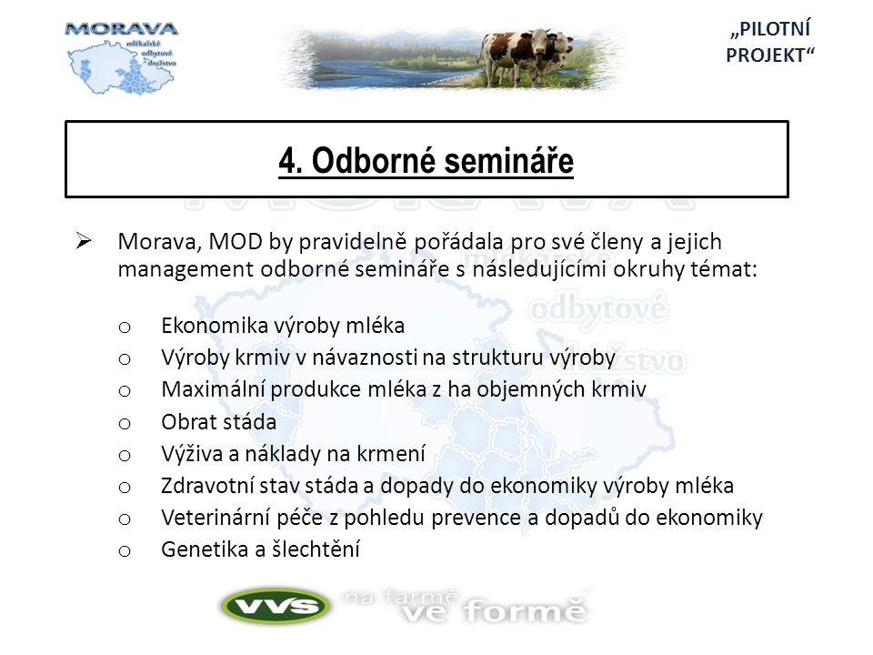 """""""PILOTNÍ PROJEKT 4. Odborné semináře."""