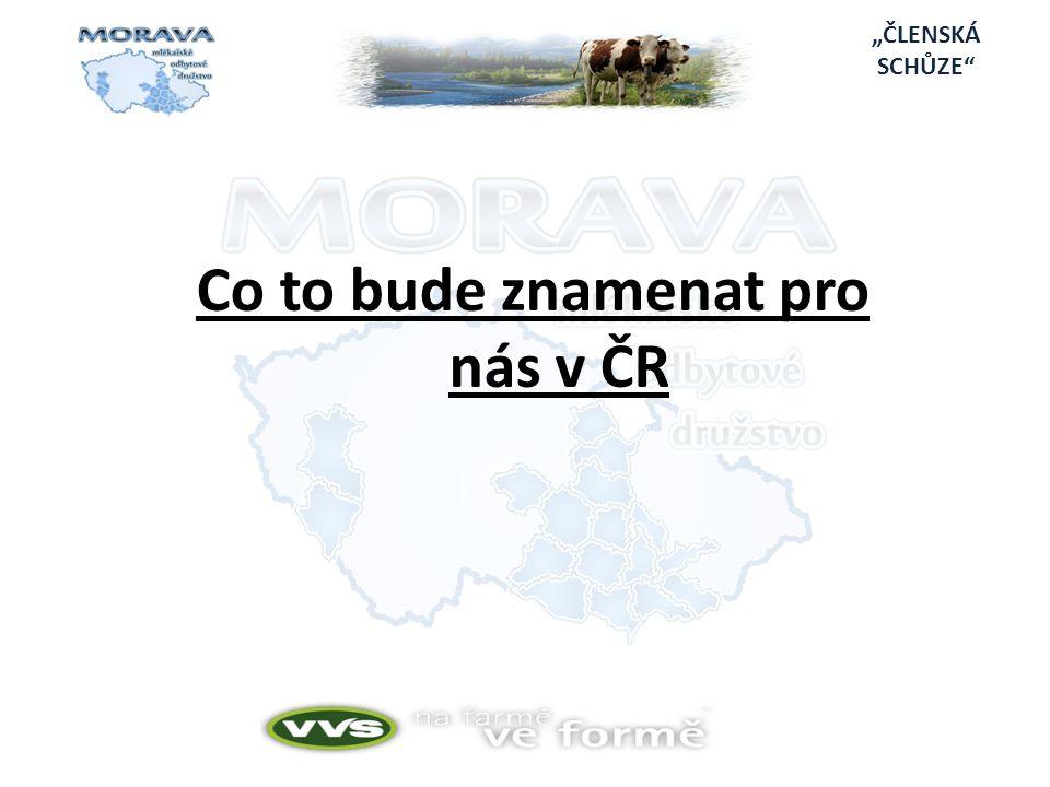 Co to bude znamenat pro nás v ČR