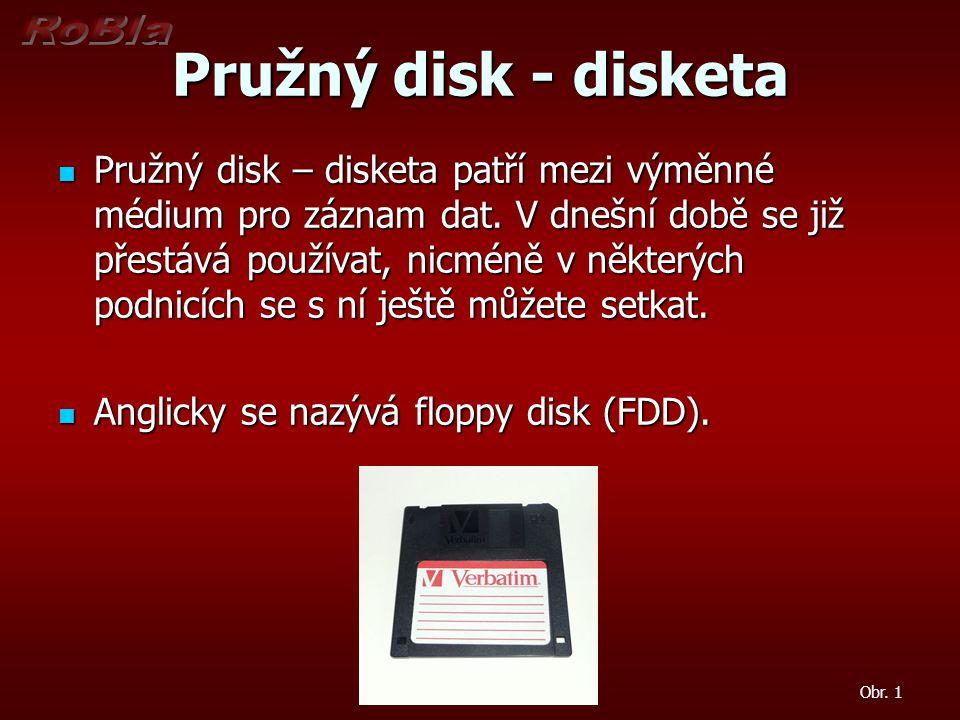Pružný disk - disketa
