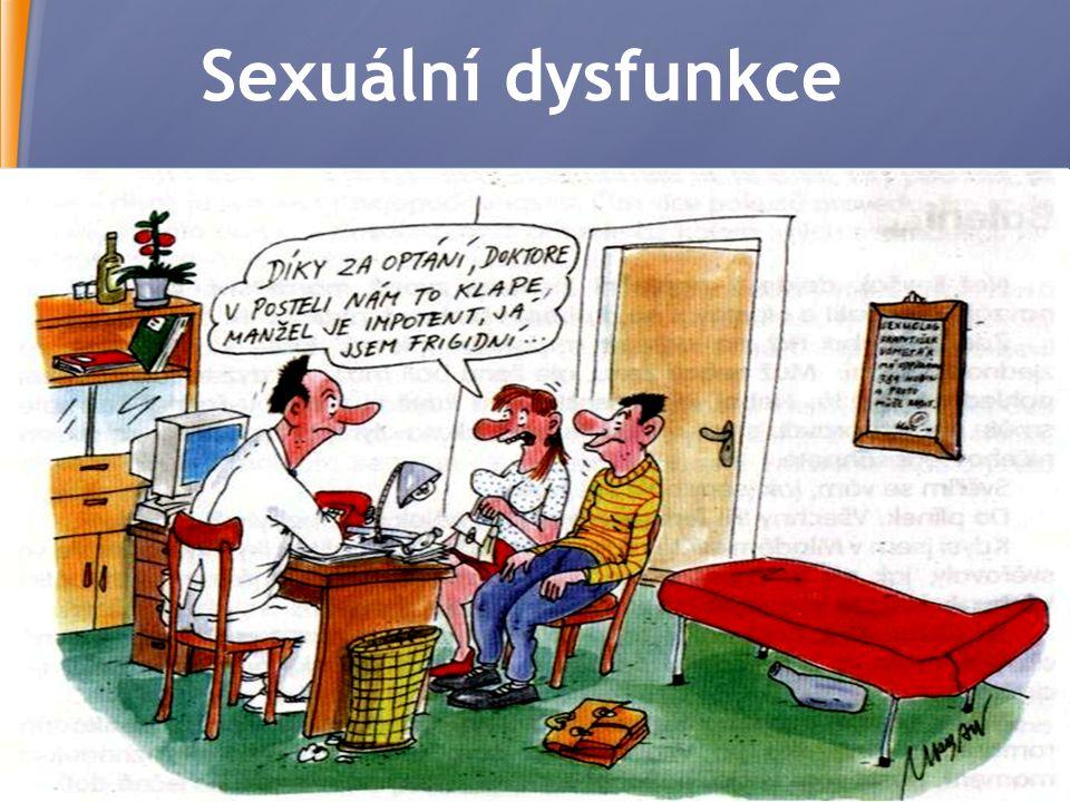 Sexuální dysfunkce