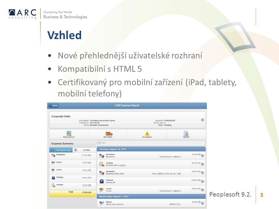 Vzhled Nové přehlednější uživatelské rozhraní Kompatibilní s HTML 5