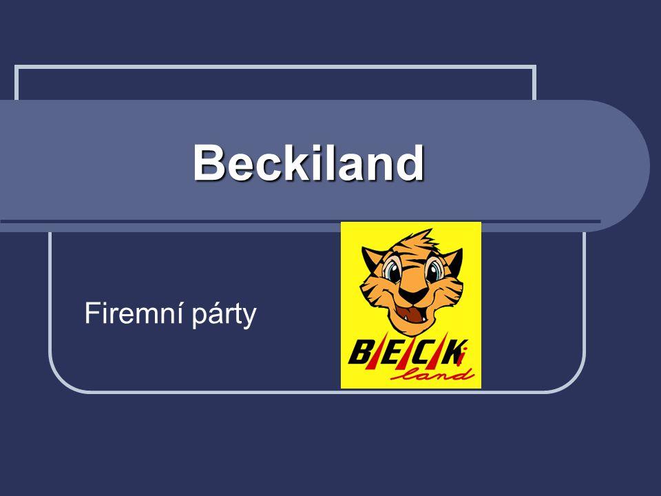 Beckiland Firemní párty