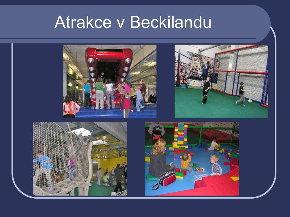 Atrakce v Beckilandu