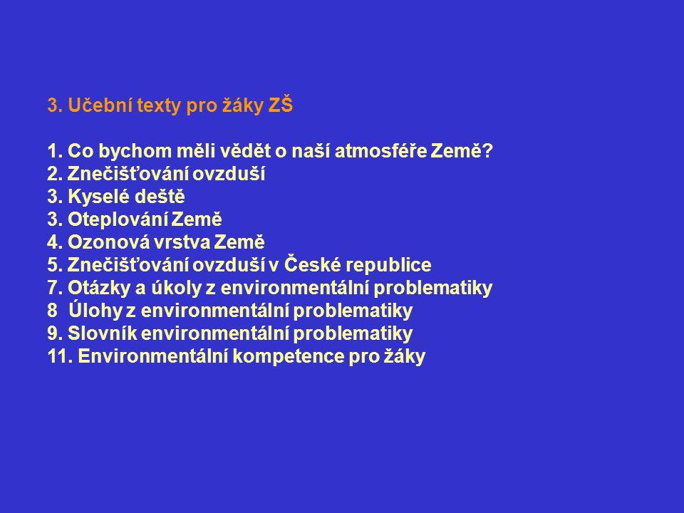 3. Učební texty pro žáky ZŠ
