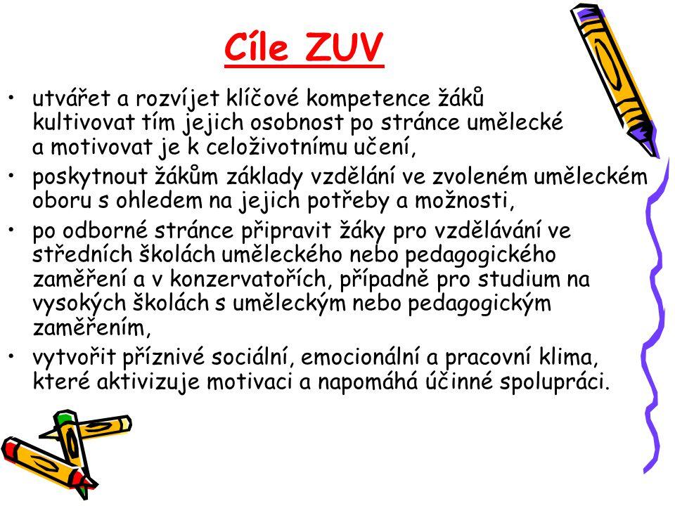 Cíle ZUV
