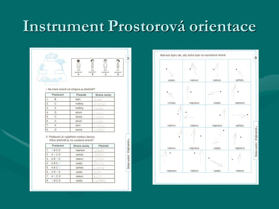 Instrument Prostorová orientace