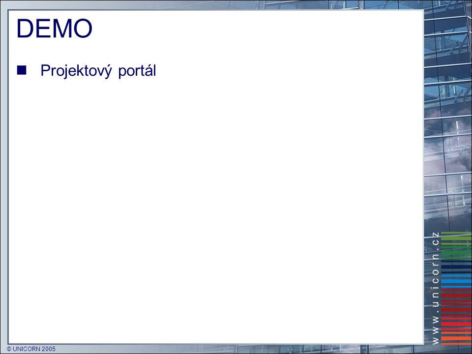DEMO Projektový portál