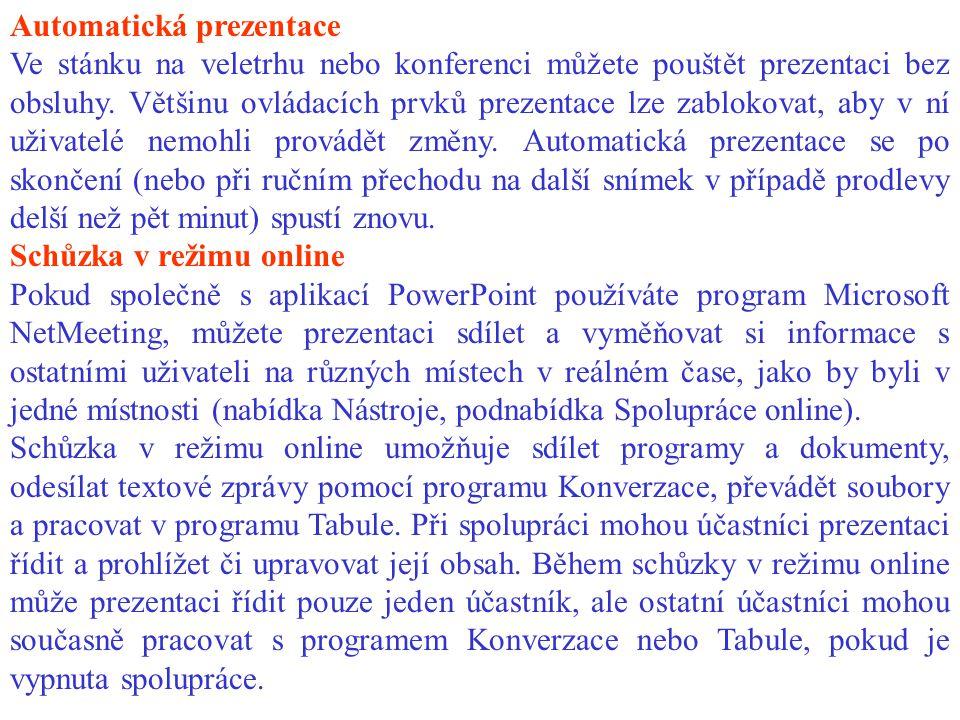 Automatická prezentace