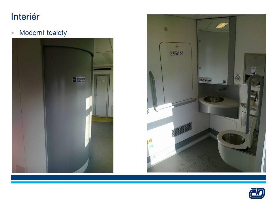 Interiér Moderní toalety