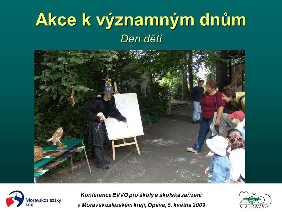 Akce k významným dnům Den dětí
