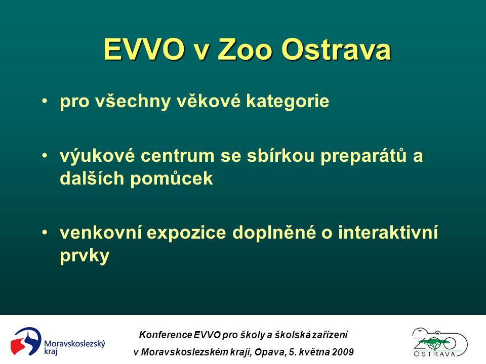 EVVO v Zoo Ostrava pro všechny věkové kategorie