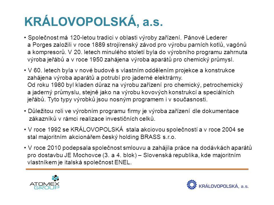 KRÁLOVOPOLSKÁ, a.s.
