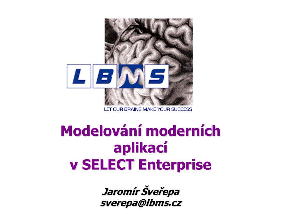 Modelování moderních aplikací v SELECT Enterprise