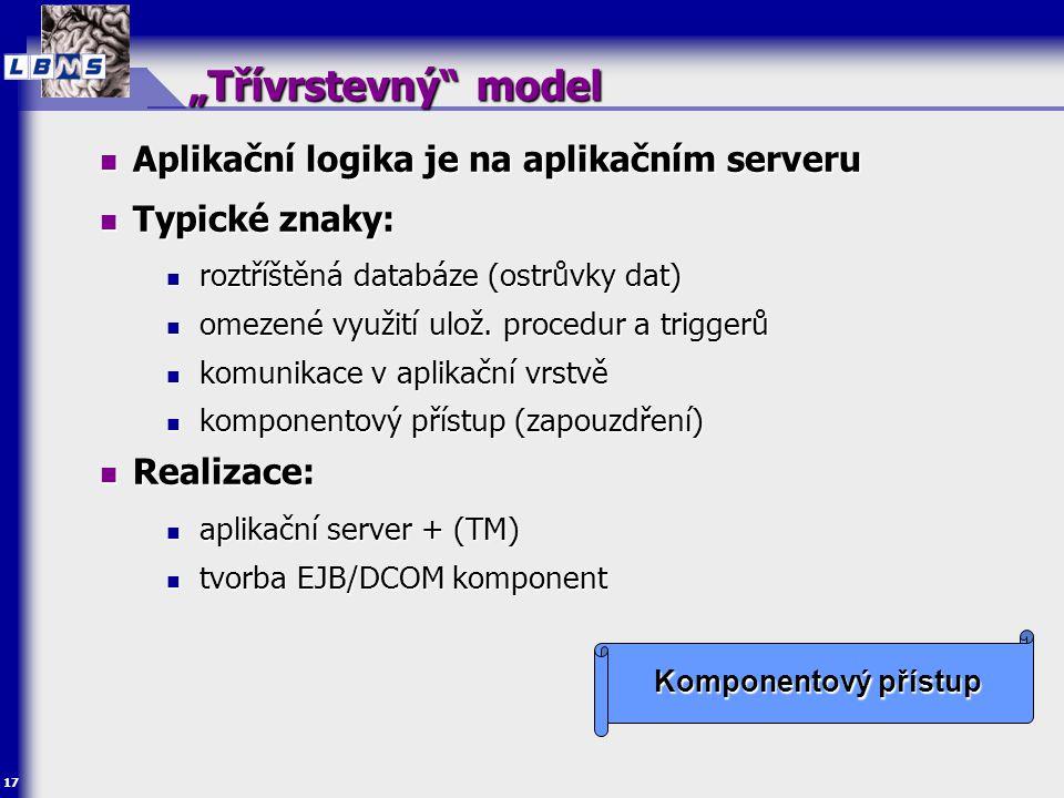 Analýza a návrh moderních aplikací