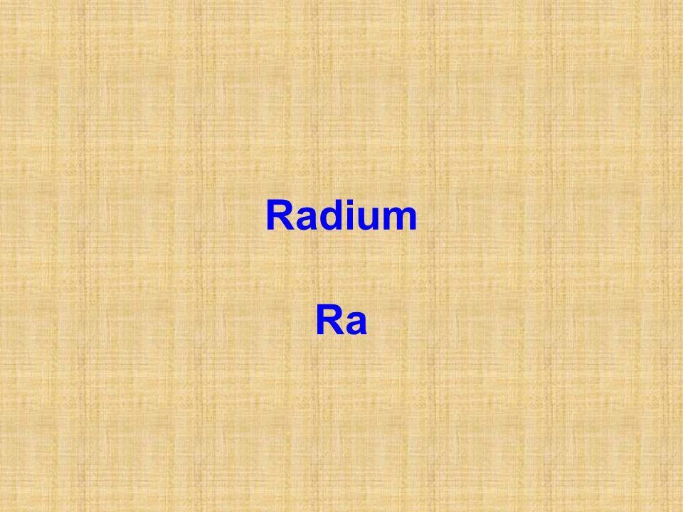 Radium Ra