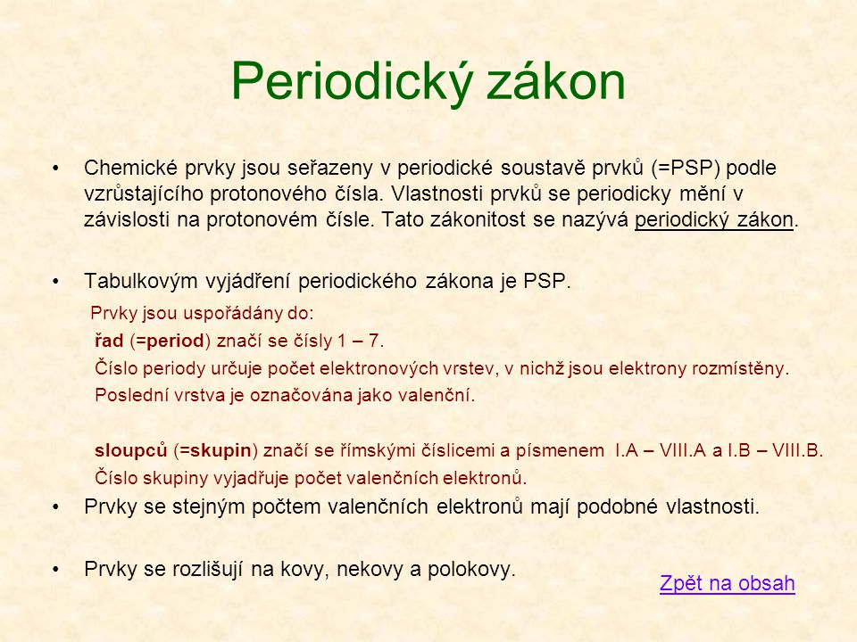 Periodický zákon