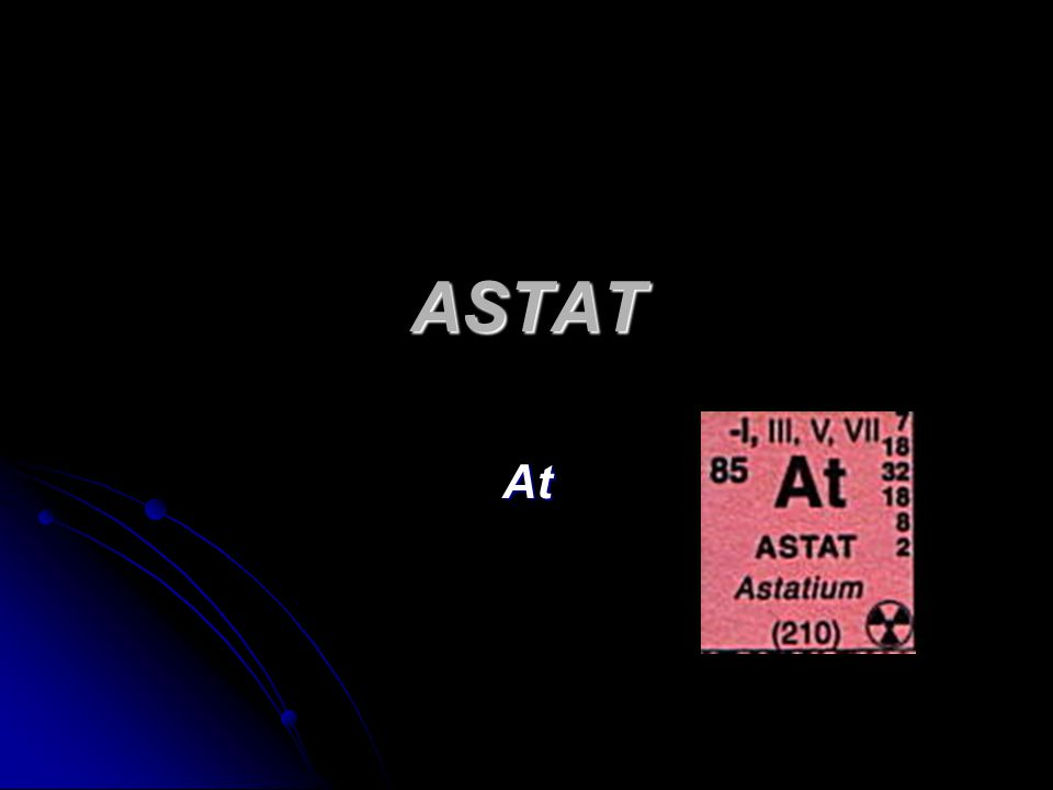 ASTAT At