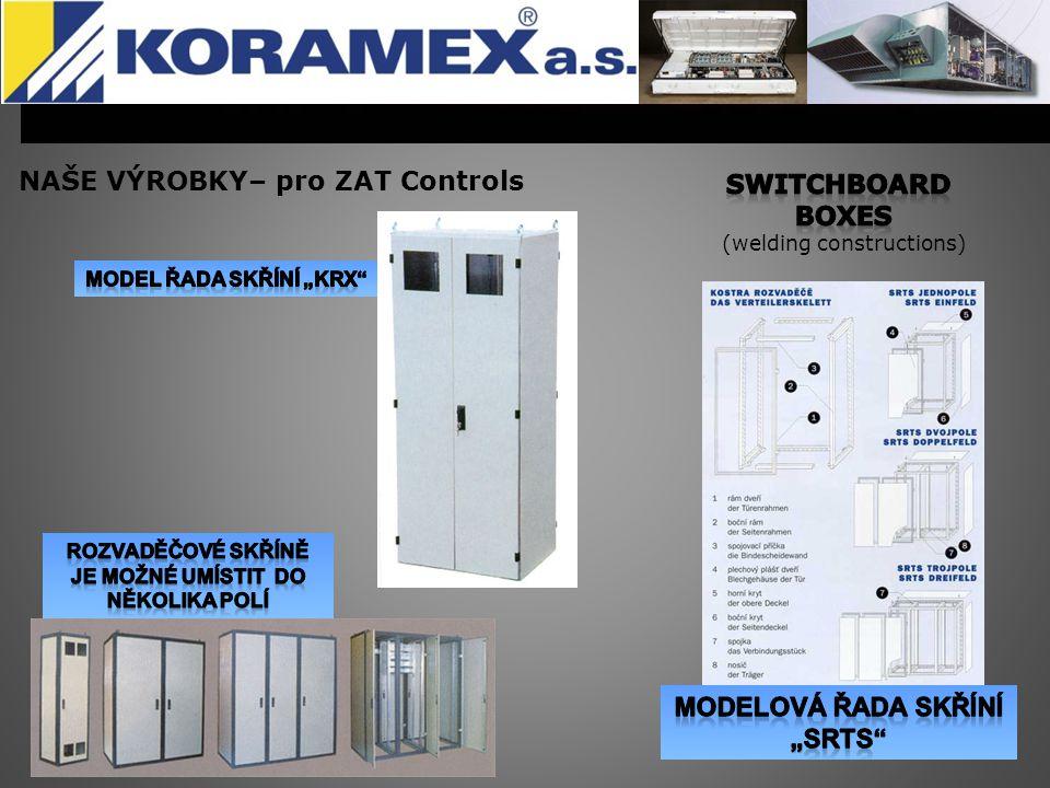 NAŠE VÝROBKY– pro ZAT Controls Switchboard boxes