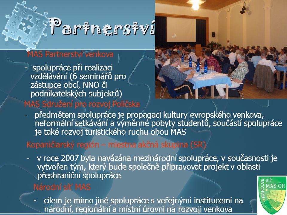Partnerství MAS Partnerství venkova