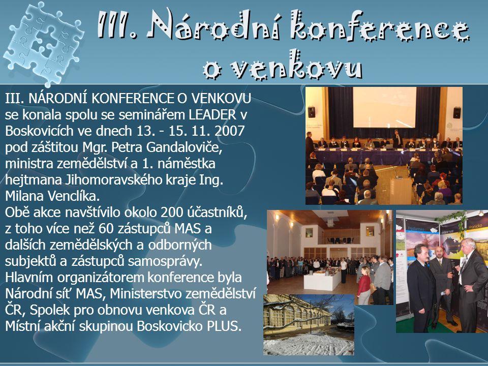 III. Národní konference o venkovu