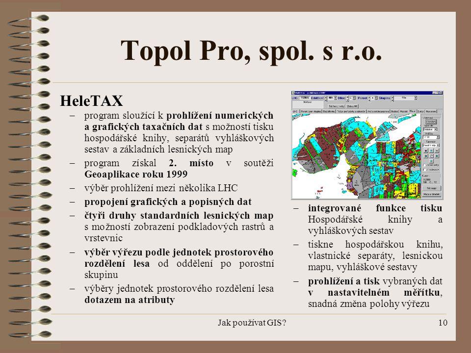 Topol Pro, spol. s r.o. HeleTAX