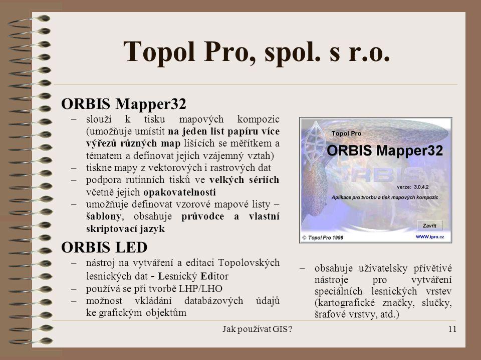 Topol Pro, spol. s r.o. ORBIS Mapper32 ORBIS LED