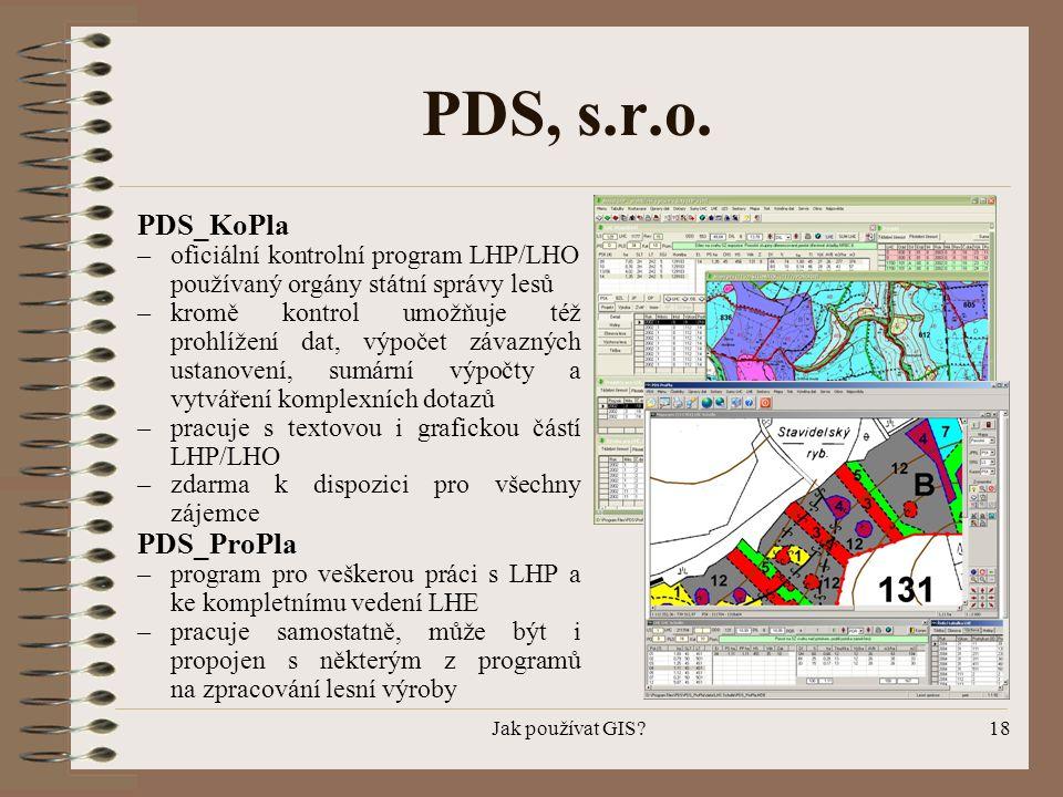 PDS, s.r.o. PDS_KoPla PDS_ProPla