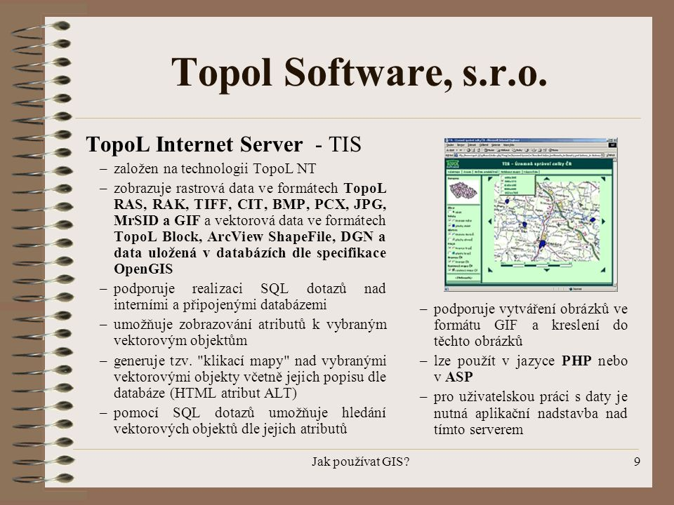 Topol Software, s.r.o. TopoL Internet Server - TIS