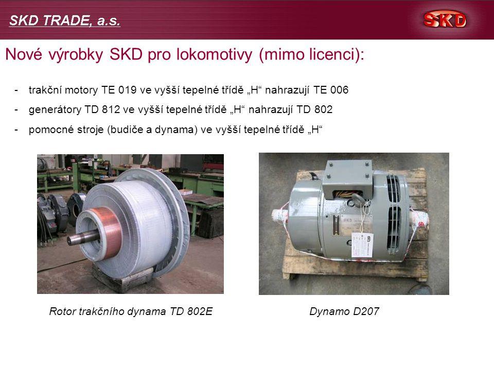 Rotor trakčního dynama TD 802E