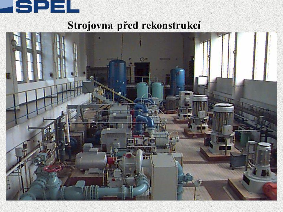 Strojovna před rekonstrukcí