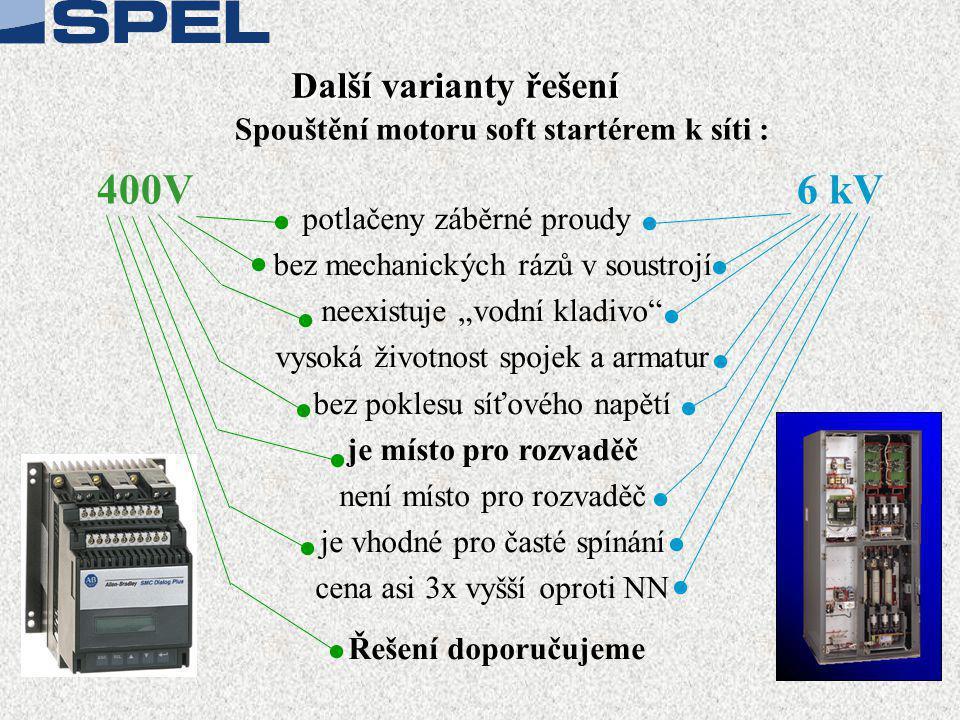 400V 6 kV Další varianty řešení