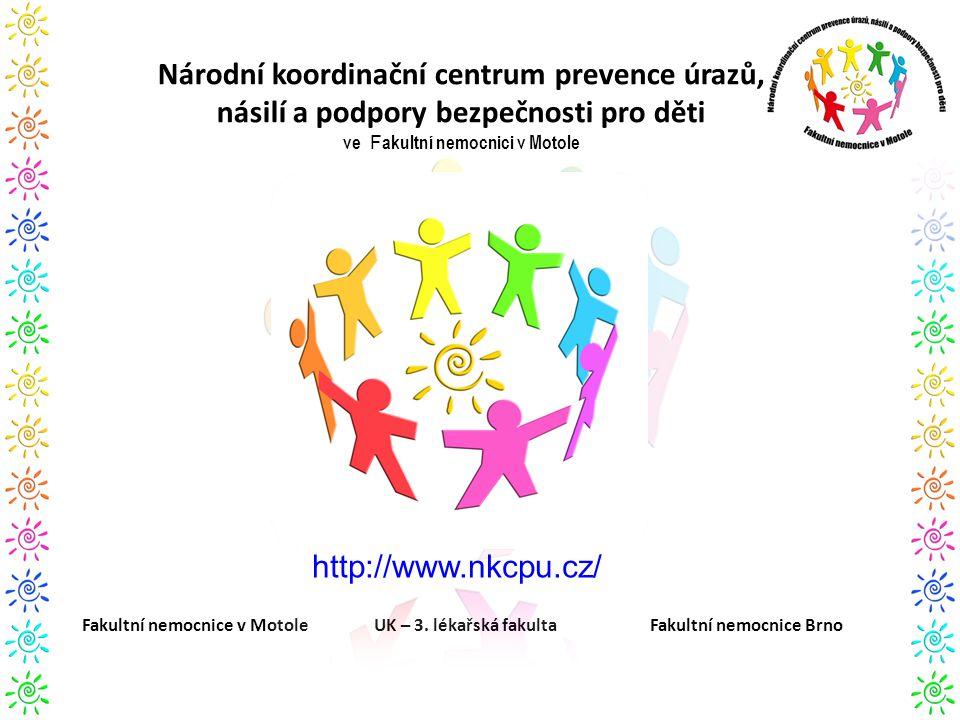 Národní koordinační centrum prevence úrazů, násilí a podpory bezpečnosti pro děti ve Fakultní nemocnici v Motole