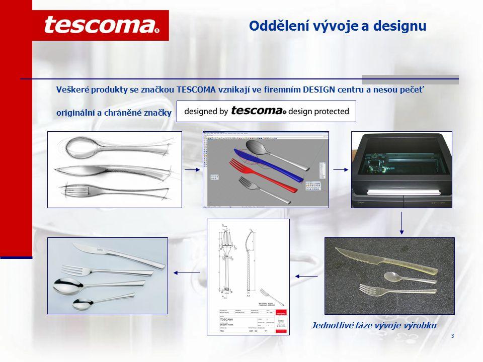 Oddělení vývoje a designu