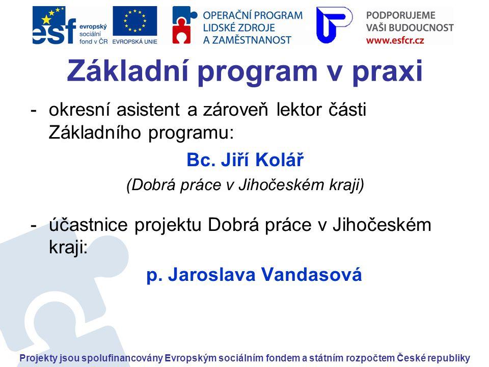 Základní program v praxi