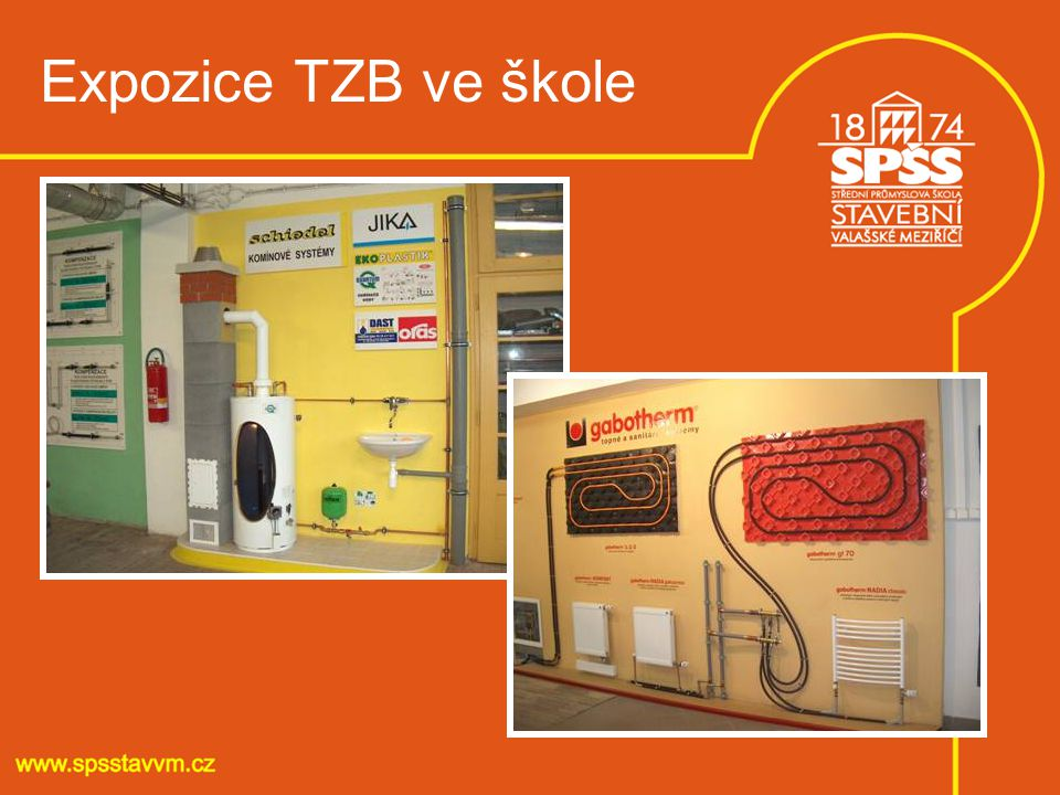 Expozice TZB ve škole