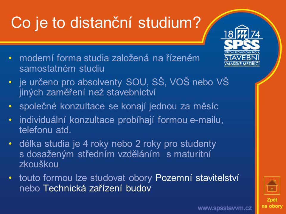 Co je to distanční studium