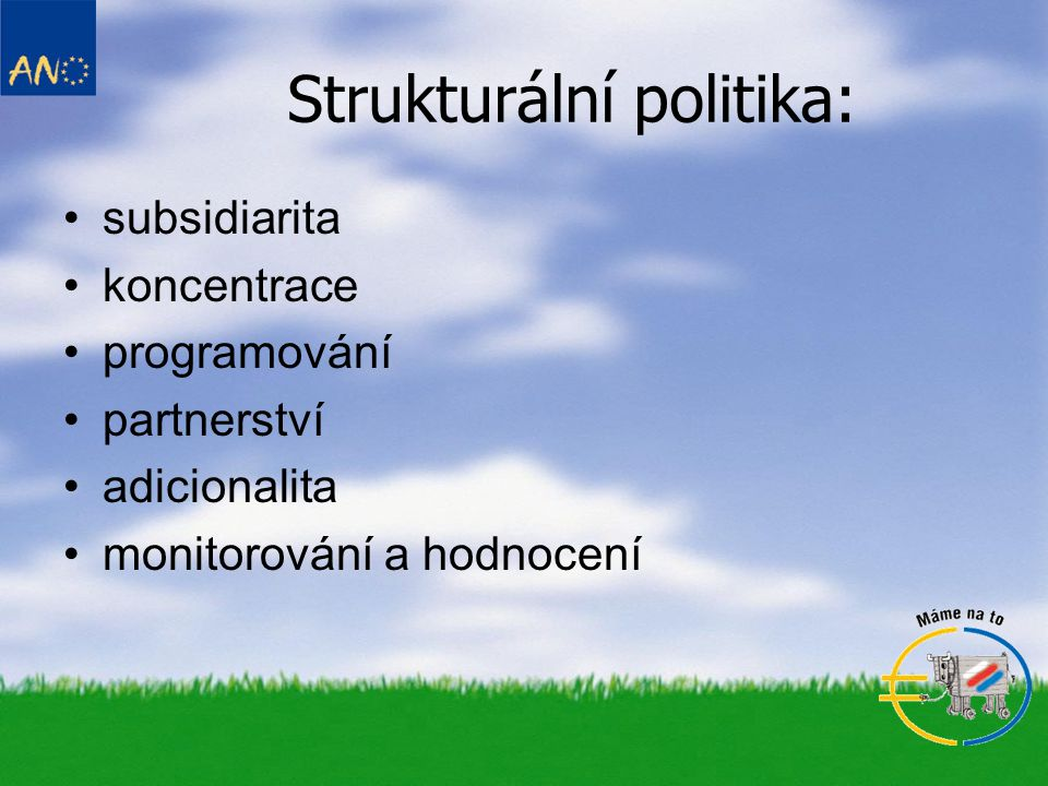 Strukturální politika: