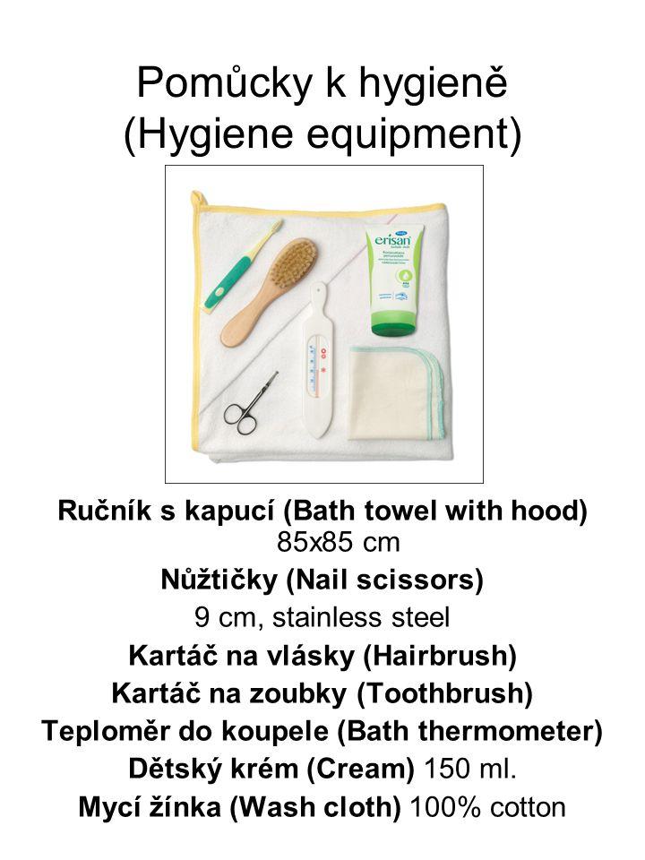 Pomůcky k hygieně (Hygiene equipment)