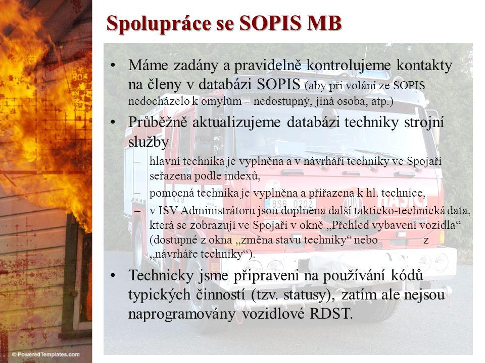 Spolupráce se SOPIS MB