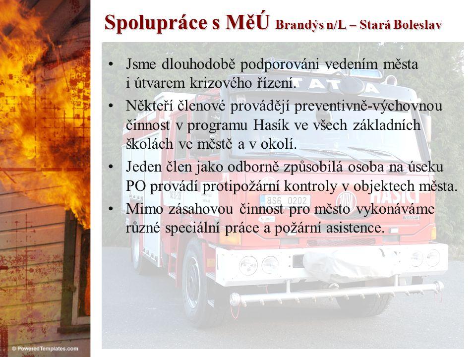 Spolupráce s MěÚ Brandýs n/L – Stará Boleslav